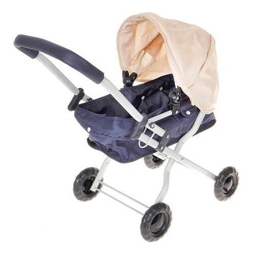 Металлическая коляска-люлька для куклы Zhorya