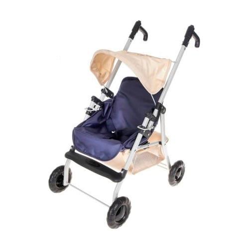Металлическая коляска-трость для куклы Zhorya