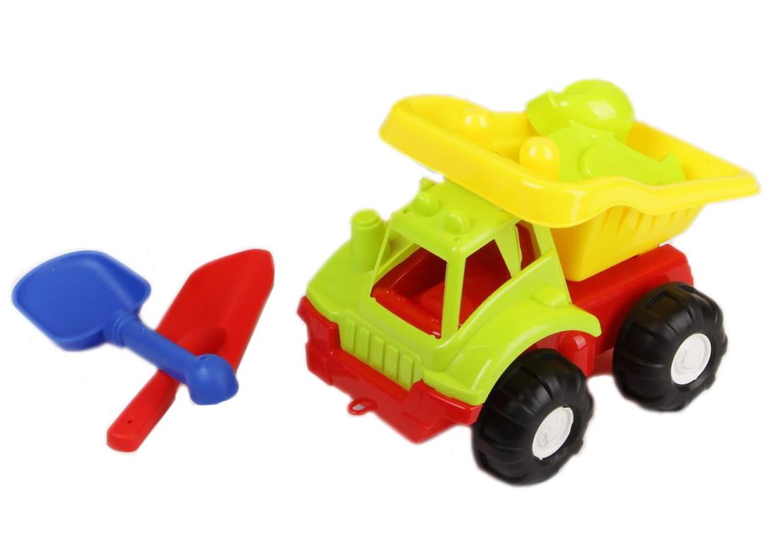 Набор формочек для песочницы Cute Beach Н48142 с машинкой - 8 штук