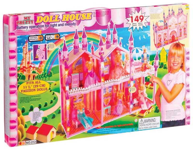 Замок для куклы My pretty Д10721 - 149 деталей