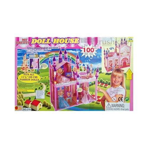 Замок для куклы - 216 деталей