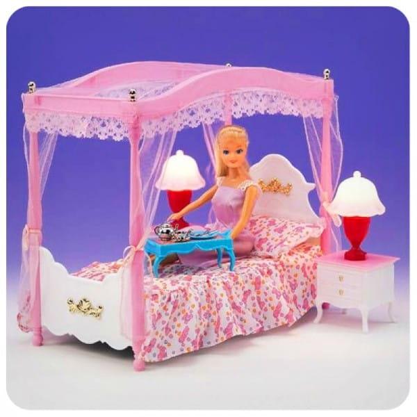 Купить Набор мебели Gloria Спальня 2 в интернет магазине игрушек и детских товаров