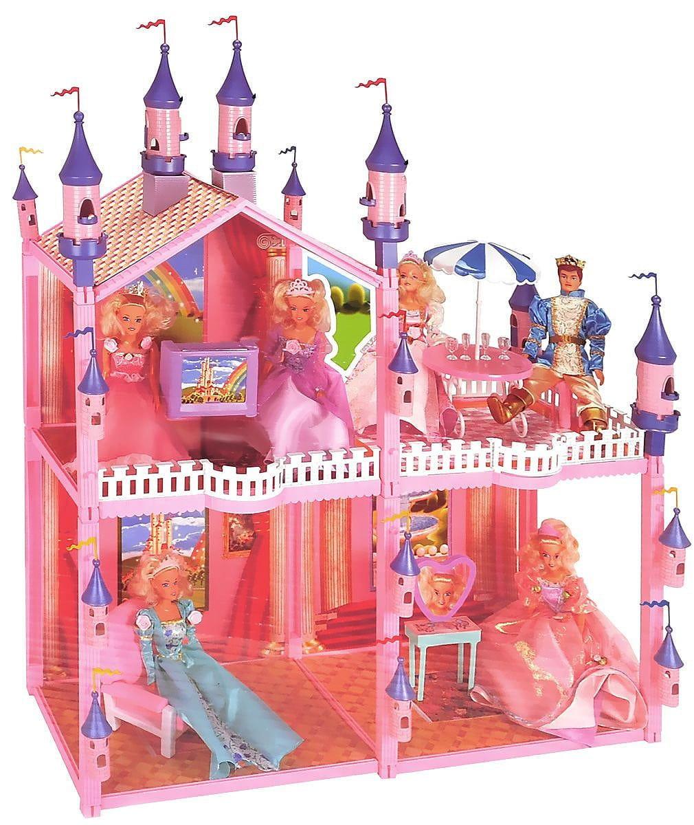 Дом для куклы MY PRETTY - 102 детали (с мебелью и машиной)