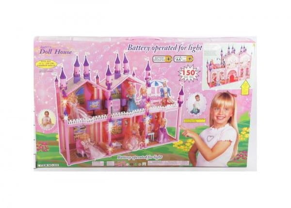 Дом для куклы MY PRETTY - 150 деталей (с мебелью)