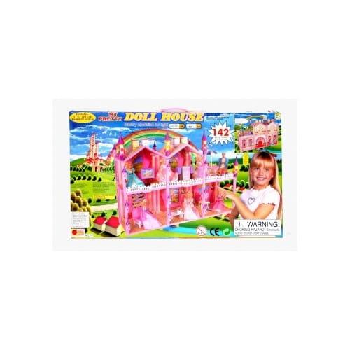 Дом для куклы My pretty Д14570 - 142 детали (с мебелью)