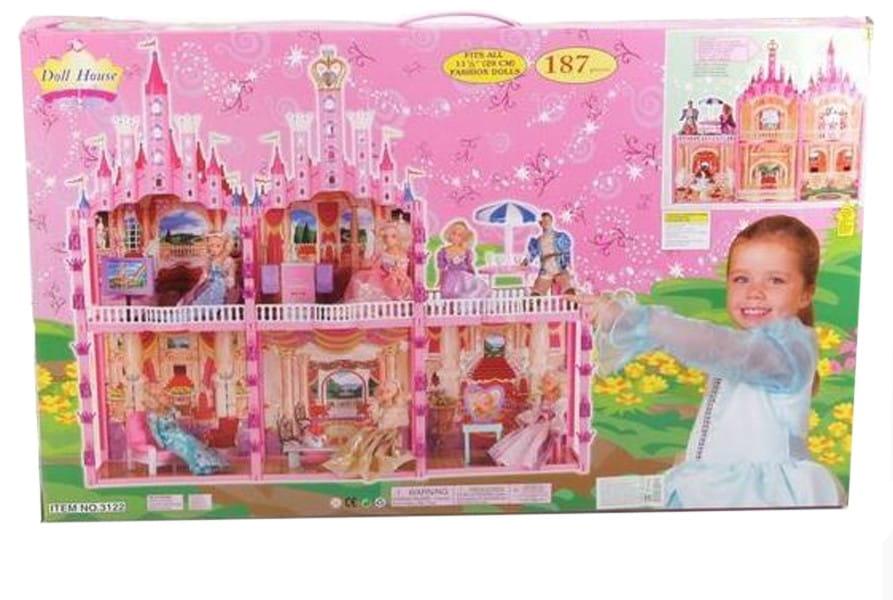 Замок для куклы BONDIBON - 187 деталей (с мебелью)