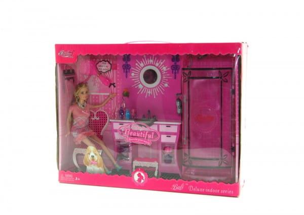 Набор ванной мебели Bondibon Д28820 (с куклой)