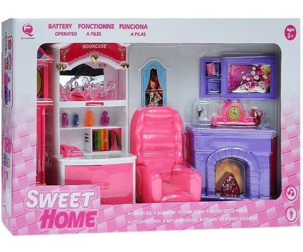 Набор мебели Sweet home Гостиная с камином