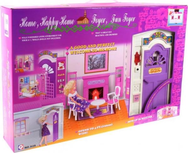 Кукольный дом с мебелью BONDIBON