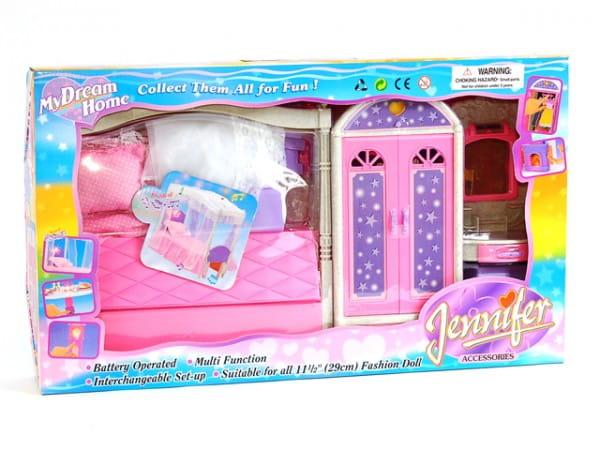 Купить Набор мебели My Dream Home Спальня Jennifer Accessories в интернет магазине игрушек и детских товаров