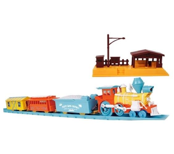 Купить Железная дорога Zhorya - 238 см в интернет магазине игрушек и детских товаров