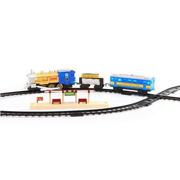 Железная дорога Bondibon Восточный экспресс - 22 детали