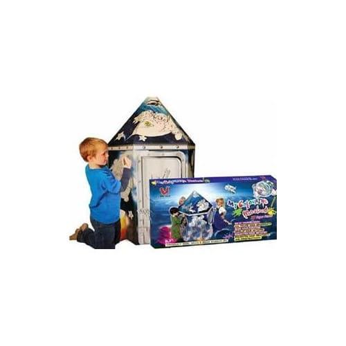Игровой домик-конструктор картонный U Do Future Ракета