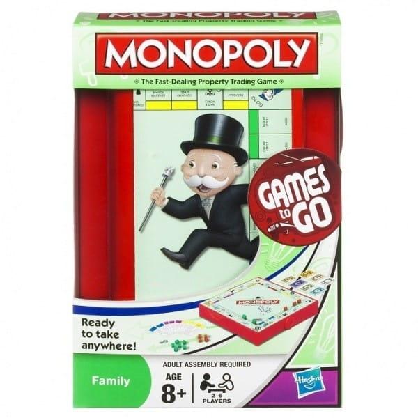 Купить Дорожная настольная игра Hasbro Монополия в интернет магазине игрушек и детских товаров