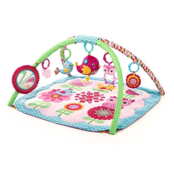 Купить Развивающий коврик Bright Starts Птички в саду в интернет магазине игрушек и детских товаров