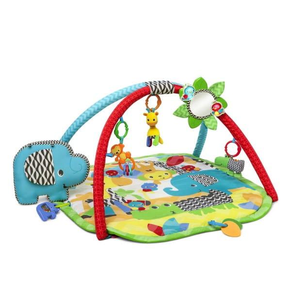 Купить Развивающий коврик Bright Starts Сафари в интернет магазине игрушек и детских товаров