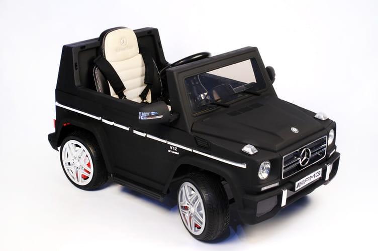 Электромобиль River Toys Mercedes-Benz G-65 (лицензионная модель)