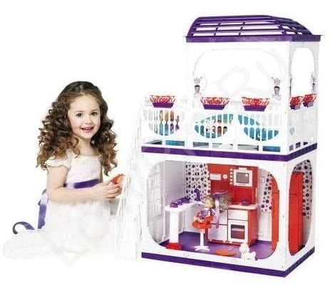 Кукольный домик Огонек Конфетти 2 (с мебелью)