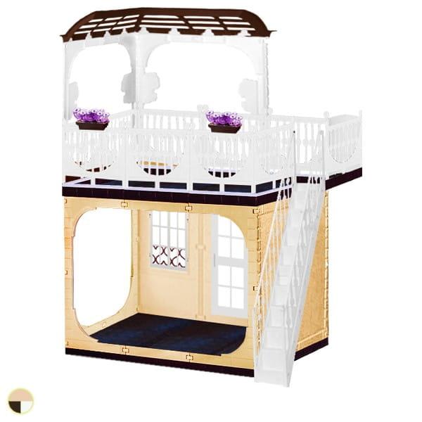 Кукольный домик Огонек Коллекция (без мебели)