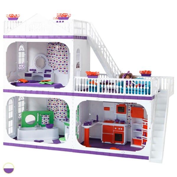 Кукольный домик Огонек Конфетти (без мебели)