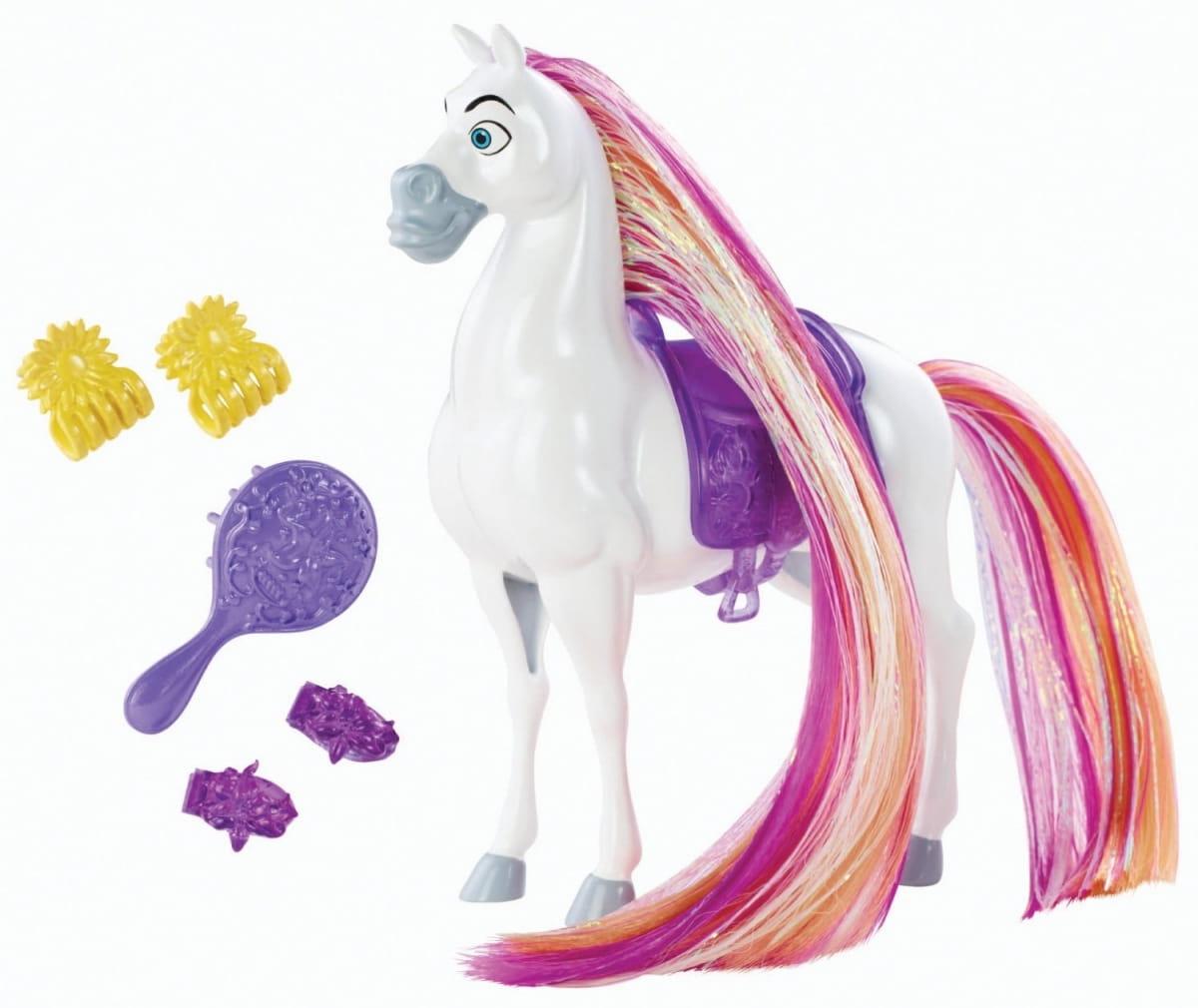 Лошадь Disney Princess BDJ53 Создай прическу - Максимус (Mattel)