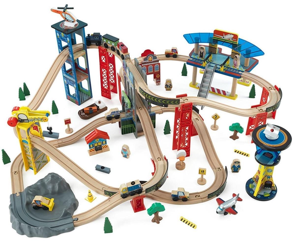 Игровой набор KIDKRAFT Супер хайвей - Железные дороги