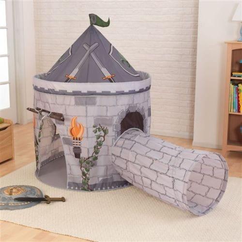Купить Палатка с тоннелем KidKraft Замок рыцаря в интернет магазине игрушек и детских товаров