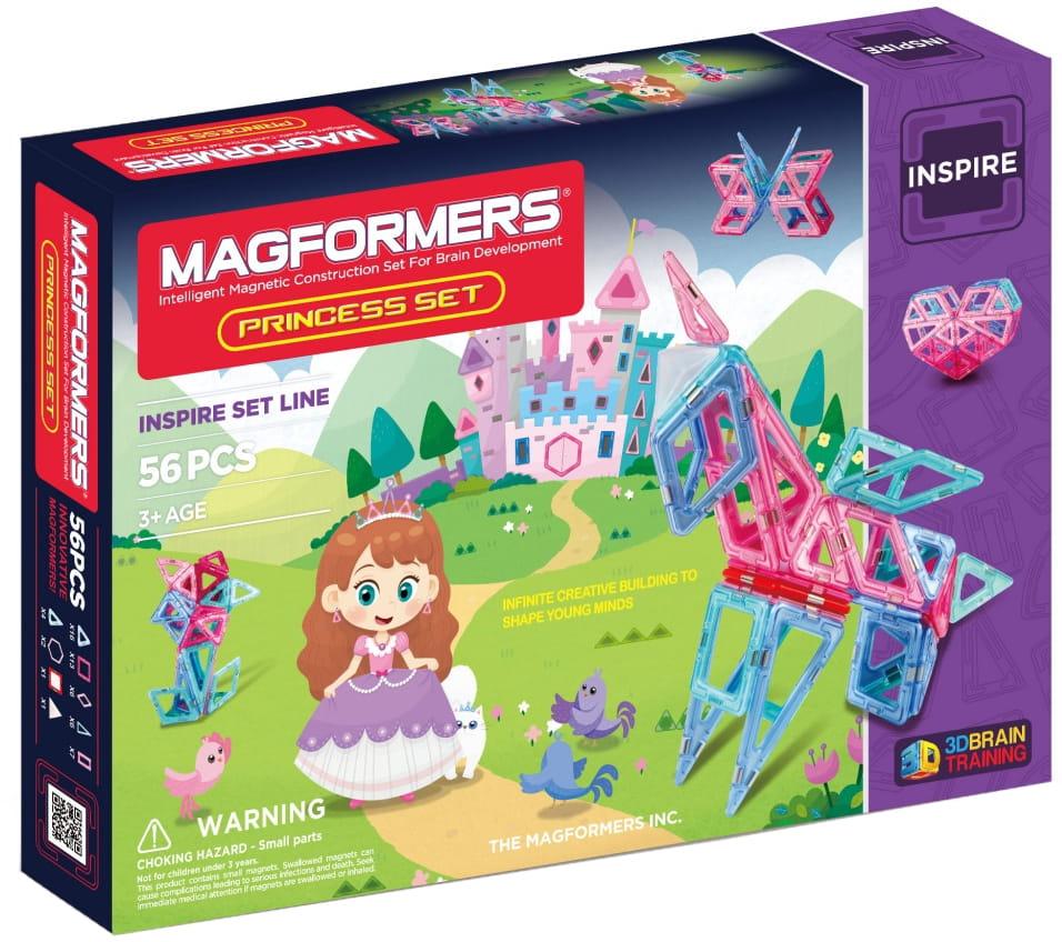 Магнитный конструктор Magformers 704003 (63134) Princess Set (56 деталей)
