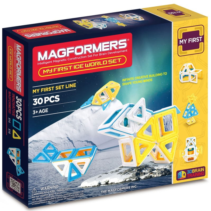 Магнитный конструктор Magformers 702003 (63136) My First Ice World (30 деталей)