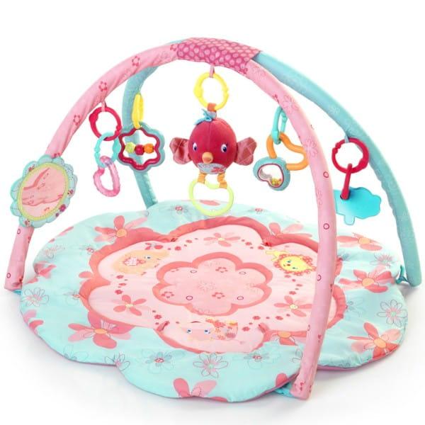 Купить Развивающий коврик Bright Starts Райский цветок в интернет магазине игрушек и детских товаров