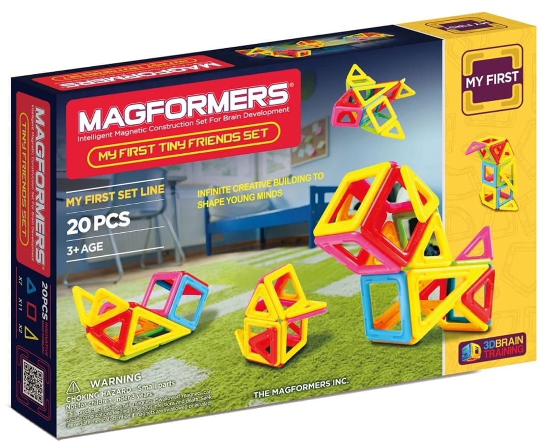 Магнитный конструктор Magformers 702004 (63143) My First Tiny Friends (20 деталей)