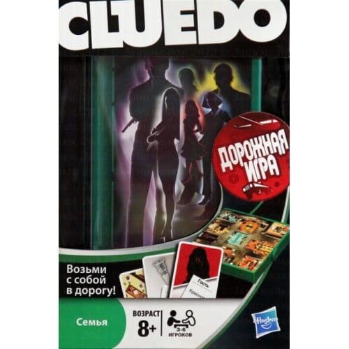 Купить Дорожная настольная игра Hasbro Клуэдо (Cluedo) в интернет магазине игрушек и детских товаров