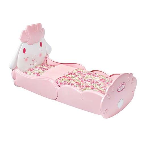 Купить Кроватка для кукол с аксессуарами Baby Annabell Овечка (Zapf Creation) в интернет магазине игрушек и детских товаров