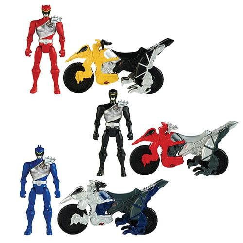 Купить Игровой набор Power Rangers Могучие рейнджеры Мотоцикл и фигурка 12 см в интернет магазине игрушек и детских товаров