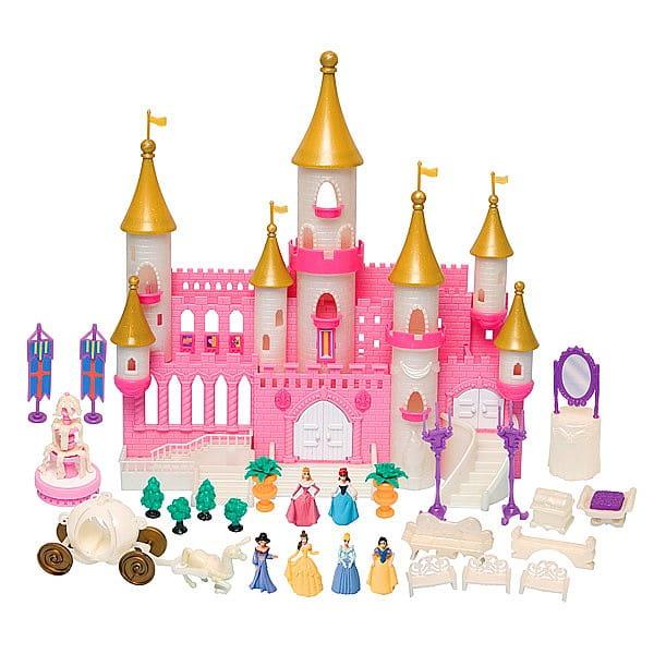 Волшебный замок Boley с золотыми башнями