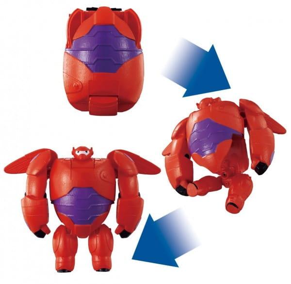 Игровой набор EggStars Яйцо-трансформер - Бэймакс (красный)