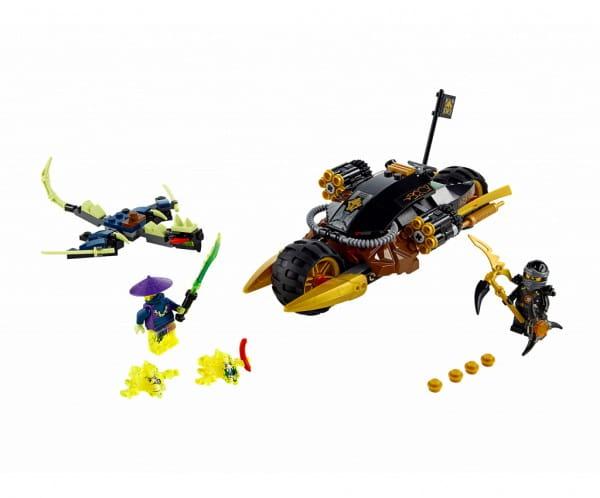 Купить Конструктор Lego Ninjago Лего Ниндзяго Бластер-байк Коула в интернет магазине игрушек и детских товаров