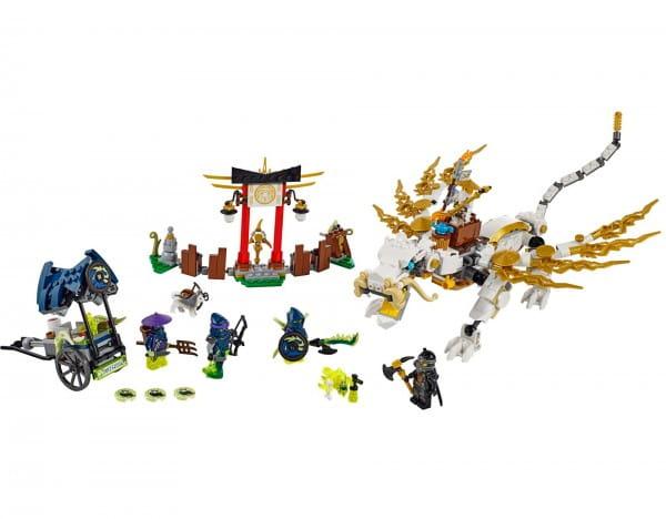Купить Конструктор Lego Ninjago Лего Ниндзяго Дракон Сэнсэя Ву в интернет магазине игрушек и детских товаров