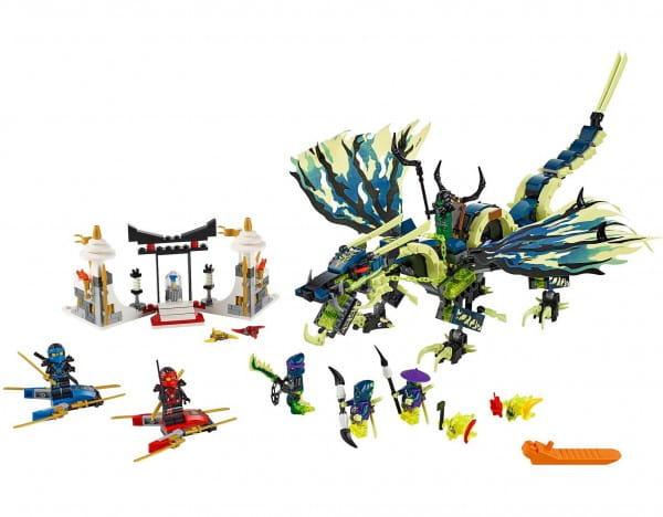 Купить Конструктор Lego Ninjago Лего Ниндзяго Атака Дракона Морро в интернет магазине игрушек и детских товаров