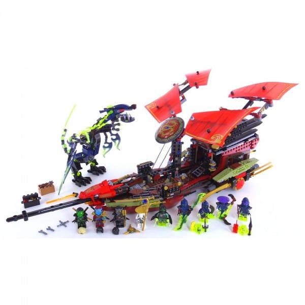 Купить Конструктор Lego Ninjago Лего Ниндзяго Корабль Дар Судьбы - Решающая битва в интернет магазине игрушек и детских товаров