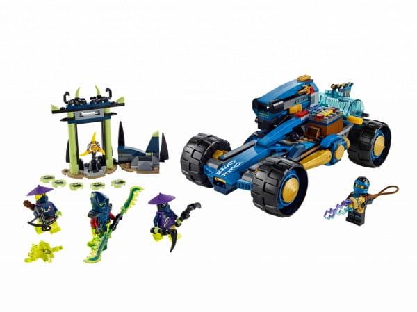 Купить Конструктор Lego Ninjago Лего Ниндзяго Шагоход Джея в интернет магазине игрушек и детских товаров