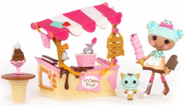 Купить Игровой набор Lalaloopsy Mini Интерьер - Магазин мороженого в интернет магазине игрушек и детских товаров