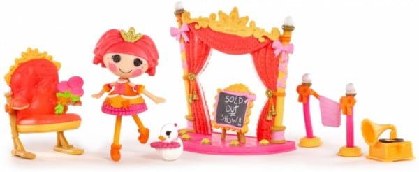 Купить Игровой набор Lalaloopsy Mini Интерьер - Балетная школа в интернет магазине игрушек и детских товаров