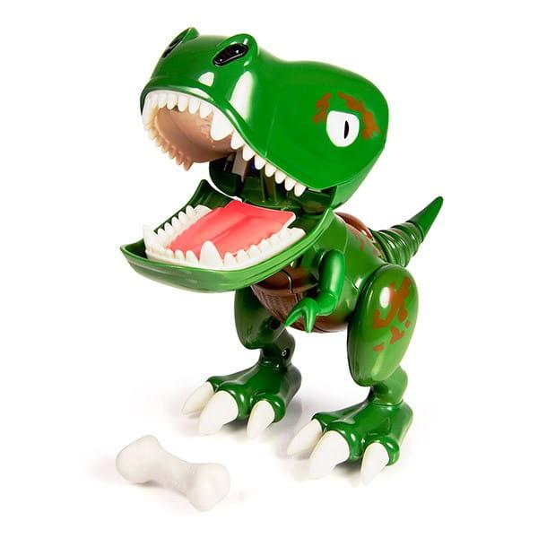 Купить Интерактивная игрушка Dino Zoomer Chompers Детеныш динозавра (Spin Master) в интернет магазине игрушек и детских товаров