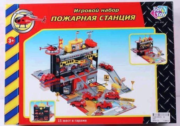 Купить Игровой набор Joy Toy Пожарная станция в интернет магазине игрушек и детских товаров