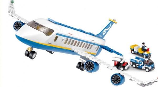 Конструктор Sluban Самолет BO-366 - 463 деталей