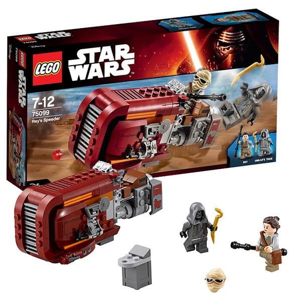 Конструктор Lego Star Wars Лего Звездные войны Спидер Рей