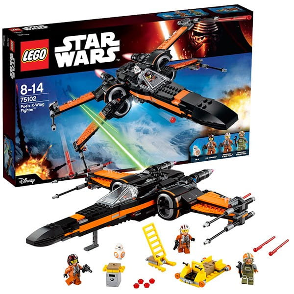 Конструктор Lego 75102 Star Wars Лего Звездные войны Истребитель По
