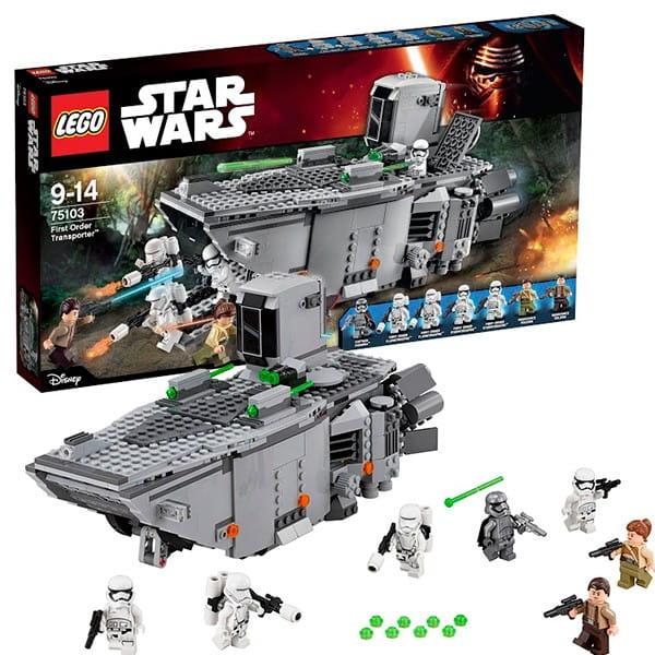 Конструктор Lego Star Wars Лего Звездные войны Транспорт Первого Ордена