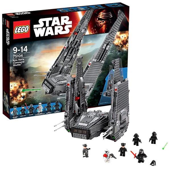 Конструктор Lego 75104 Star Wars Лего Звездные войны Командный шаттл Кайло Рена